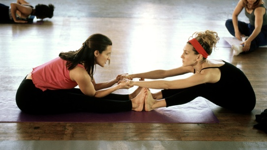 yoga sex and the city